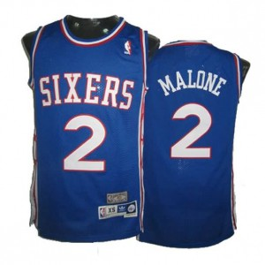 Canotte Malone,Philadelphia 76ers Blu