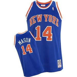 Canotte Mason,New York Knicks Blu
