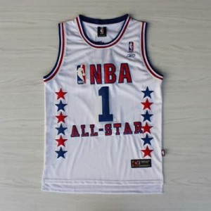 Canotte NBA McGrady,All Star 2003 Bianco