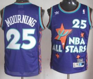 Canotte NBA Mourning,All Star 1995 Blu