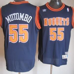 Canotte Mutombo,Denver Nuggets Blu