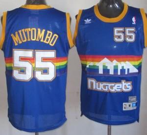 Canotte Mutombo,Denver Nuggets Blu2