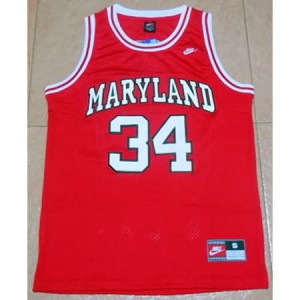 Canotte NCAA Maryland Blas Rosso
