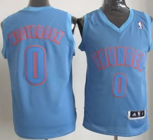 Canotte NBA Natale 2012 Westbrook Blu