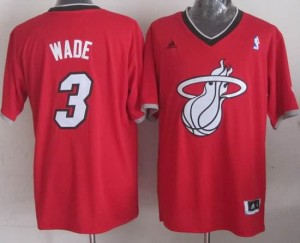 Canotte NBA Natale 2013 Wade Rosso