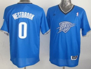 Canotte NBA Natale 2013 Westbrook Blu