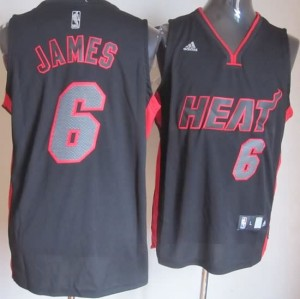 Canotte NBA Moda James Nero