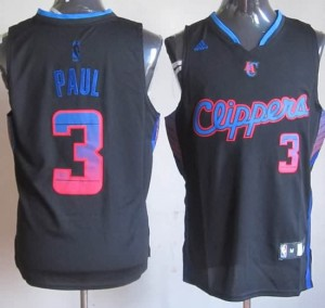 Canotte NBA Moda Paul Nero