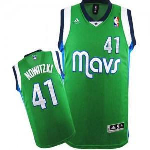 Canotte Nowitzki,Dallas Mavericks Verde