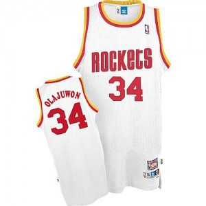 Canotte Olajuwon,Houston Rockets Bianco