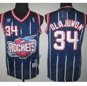 Canotte Rivoluzione 30 Olajuwon,Houston Rockets Blu