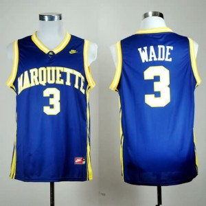 Canotte NCAA Wade,Marquette Blu