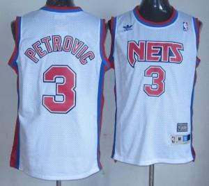 Canotte Petrovic,Brooklyn Nets Bianco