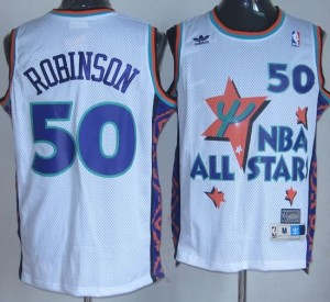 Canotte NBA Robinson,All Star 1995 Bianco