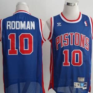 Canotte Rodman,Detroit Pistons Blu
