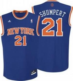 Canotte Rivoluzione 30 Shumpert,New York Knicks Blu