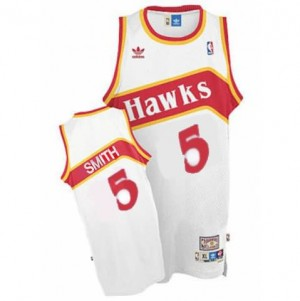 Canotte Smith,Atlanta Hawks Bianco