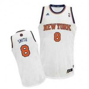 Canotte Rivoluzione 30 Smith,New York Knicks Bianco