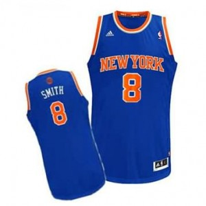 Canotte Rivoluzione 30 Smith,New York Knicks Blu