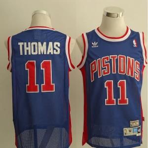 Canotte Thomas,Detroit Pistons Blu