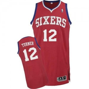 Canotte Turner,Philadelphia 76ers Rosso