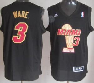 Canotte NBA Campeones Wade Nero