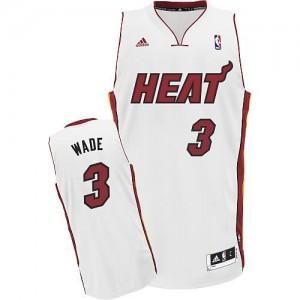 Canotte Rivoluzione 30 Wade,Miami Heats Bianco