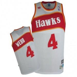 Canotte Webb,Atlanta Hawks Bianco