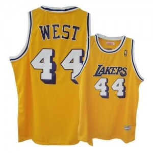 Canotte West,Los Angeles Lakers Giallo