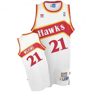 Canotte Wilkins,Atlanta Hawks Bianco