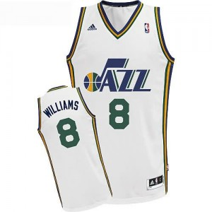 Canotte Williams,Minnesota Timberwolves Bianco