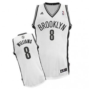 Canotte Rivoluzione 30 Williams,Brooklyn Nets Bianco