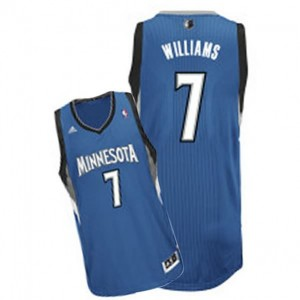 Canotte Rivoluzione 30 Williams,Minnesota Timberwolves Blu