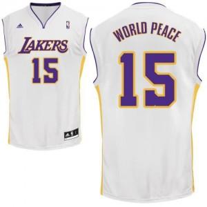 Canotte Rivoluzione 30 WorldPeace,Los Angeles Lakers Bianco