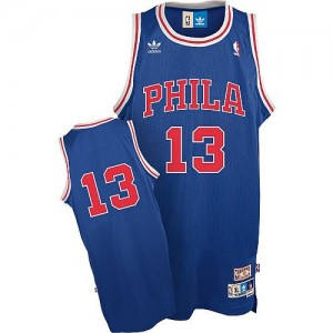 Canotte chamberlain,Philadelphia 76ers Blu