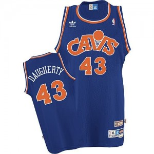 Canotte retro Daugherty,Cleveland Cavaliers Blu