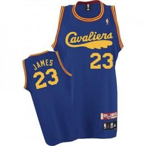 Canotte retro James,Cleveland Cavaliers Blu