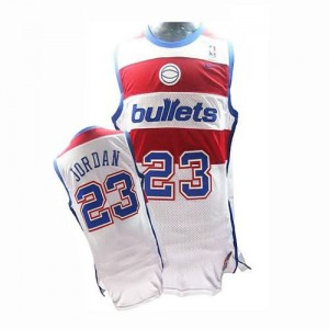 Canotte retro Jordan,Washington Wizards Bianco