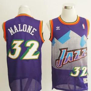 Canotte retro Malone,Utah Jazz Porpora