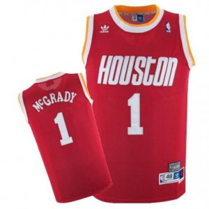 Canotte retro McGrady,Houston Rockets Rosso