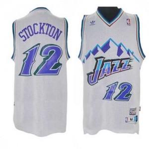 Canotte retro Stockton,Utah Jazz Bianco