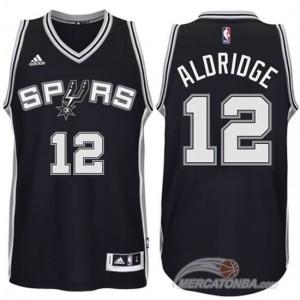 Canotte Aldridge,San Antonio Spurs Nero