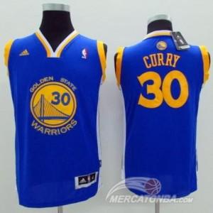Canotte Bambini Curry,Golden State Warriors Blu