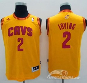 Canotte Bambini Irving,Cleveland Cavaliers Giallo