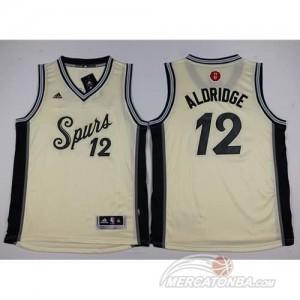 Canotte Bambini Aldridge,San Antonio Spurs Bianco