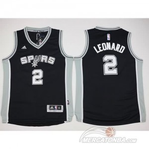 Canotte Bambini Leonard,San Antonio Spurs Nero