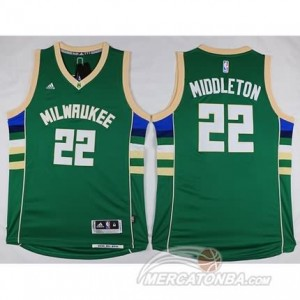 Canotte Parker,Milwaukee Bucks Verde