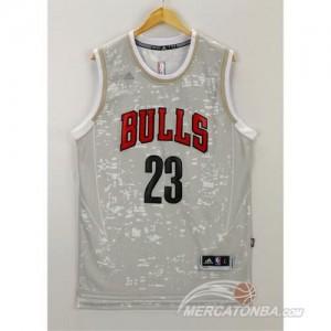 Canotte NBA Luces Bulls Jordan Grigio