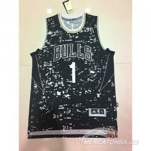 Canotte NBA Edicion Glow Bulls Rose
