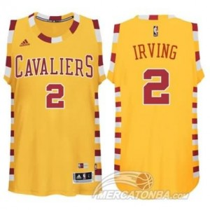 Canotte Irving ,Cleveland Cavaliers Giallo